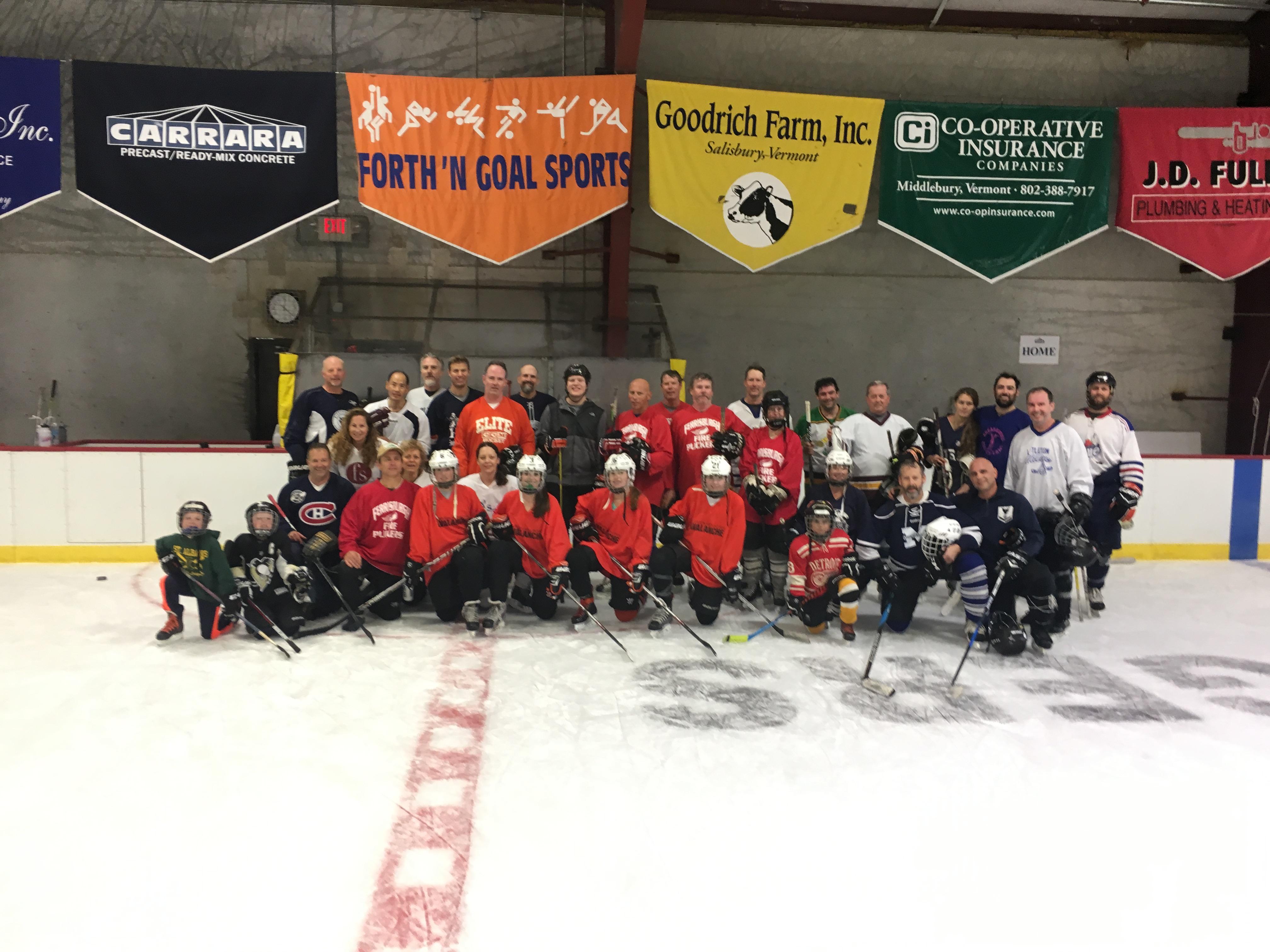 Heat It Up Preseason Pond Hockey Tournament Memorial Sports Center